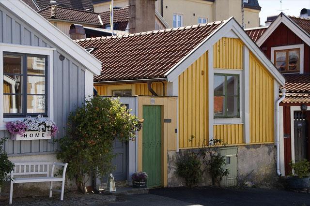 Bootshäuser Ferienhaus Kalmar, Schweden