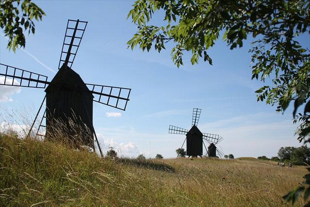 Mühlen auf Öland
