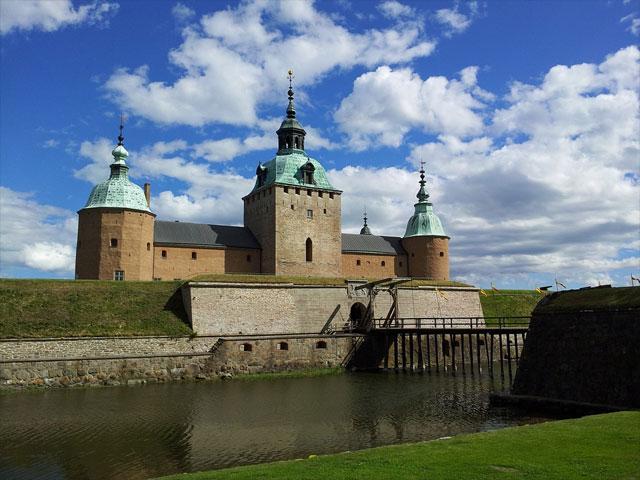 Schloss bei Kalmar in der Provinz Kalmar Län