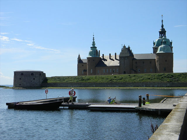 Schloss in Kalmar, Schweden